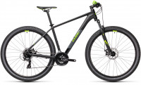 "Велосипед CUBE Aim 27.5"" black´n´green (2021)"