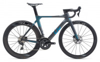"Велосипед Giant LIV Enviliv Advanced Pro 2 Disc 28"" Charcoal / Chameleon Blue (2020)"
