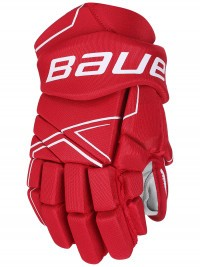 Перчатки Bauer S18 NSX Gloves JR red