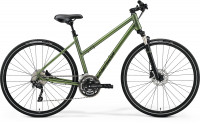 Велосипед Merida Crossway 300 Lady MattFogGreen/DarkGreen (2021)