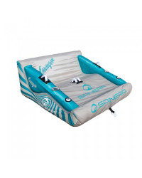 Баллон буксировочный Spinera Lounger - 2 Person Lounge tube grey/blue (2020)
