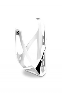 Флягодержатель CUBE Bottle Cage HPP matt white'n'black (2020)