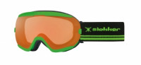 Маска Slokker SLK Goggle Pordoi orange green (2020)