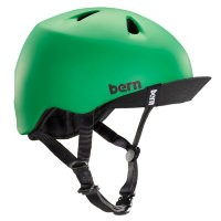 Шлем Bern Nino Summer Matte Kelly Green w/ Visor