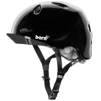 Шлем Bern Berkeley Summer Gloss Black w/ Visor