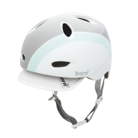 Шлем Bern Berkeley Summer Gloss White w/ Visor
