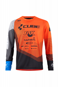 Джерси CUBE EDGE Round-Neck Jersey L/S X Action Team