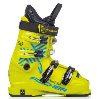 Горнолыжные ботинки Fischer Ranger 60 Jr. Thermoshape yellow/yellow (2021)