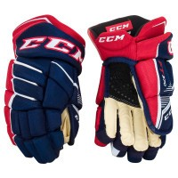 Перчатки CCM JETSPEED FT370 JR navy/red/white