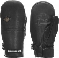 Варежки мужские TERROR SNOW BONUS GLOVES LEATHER black