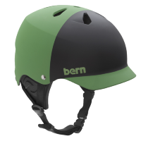 Шлем Bern Watts Water Helmet Matte Neon Green/Black 2tone