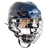 Шлем с маской CCM Tacks 110 Combo navy