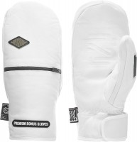 Варежки мужские TERROR SNOW BONUS GLOVES LEATHER white