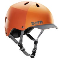 Шлем Bern Watts Summer Matte Orange Hatstyle
