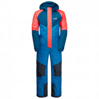 Куртка Jack Wolfskin Great Snow Snowsuit Kids Blue Pacific (2021)