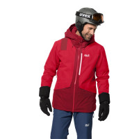 Куртка Jack Wolfskin Big White Jacket M dark lacquer red (2020)