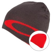Шапка мужская Oakley Beanie Beanie Ellipse poopy red (2019)