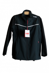 Куртка виндстоппер Vist Ventina Softshell Jacket Junior черная (2019)