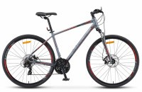 "Велосипед Stels Cross-130 MD Gent 28"" V010 gray (2019)"