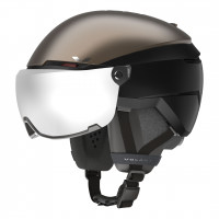 Шлем Atomic VOLANT AMID VISOR HD gold/black/grey (2021)