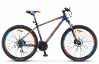 "Велосипед Stels Navigator-750 D 27.5"" V010 blue/orange (2019)"