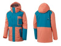 Куртка Romp 50:50 Grind Classic Jacket FW15-16 Green/Orange