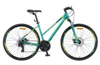 "Велосипед Stels Cross-130 MD Lady 28"" V010 green (2019)"