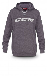 Толстовка детская CCM Hockey Hoody JR Dark Grey Heathered