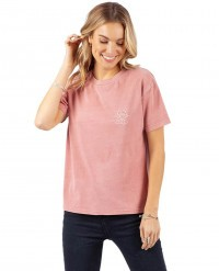 Футболка женская Rip Curl The Searchers Tee 577 dusty rose (2020)