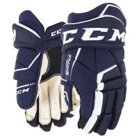 Перчатки CCM Tacks 9040 JR Navy/White