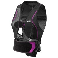 Защита спины Salomon Flexcell Women black/purple (2019)