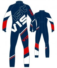 Комбинезон Vist Lighting Junior Race Suit With Pro 1 Zip deep ocean/white/ruby (2020)
