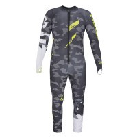 Комбинезон Head Race Voltage Team Suit gray/yellow (2019)
