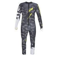 Комбинезон Head Race Voltage Team Suit JR gray/yellow (2019)