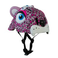 Шлем Crazy Safety Pink Leopard розовый