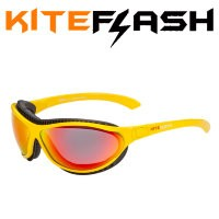 Очки для кайтсерфинга Kiteflash Mancora Original Yellow Amalgam lenses