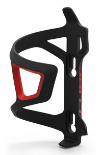 Флягодержатель Cube Bottle Cage HPP Sidecage black´n´red