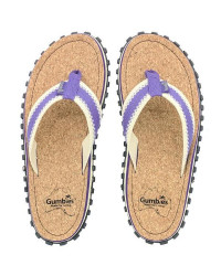 Шлепки женские Gumbies Flip-Flops CORKER PURPLE (2020)