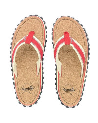 Шлепки женские Gumbies Flip-Flops CORKER RED (2020)