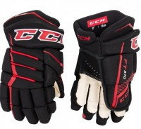 Перчатки CCM JETSPEED FT370 JR black/red