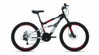 Велосипед ALTAIR MTB FS disc 24 black/red (2020)