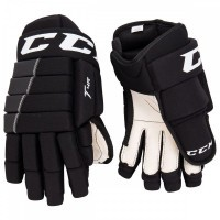 Перчатки CCM Tacks 4R Roll JR black/black