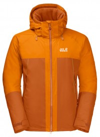 Куртка Jack Wolfskin Powder Mountain Jacket Men desert orange (2020)