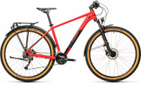 "Велосипед CUBE Aim SL Allroad 27.5"" red´n´black (2021)"
