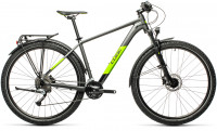 "Велосипед CUBE Aim SL Allroad 27.5"" grey´n´green (2021)"