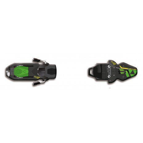 Крепление Fischer Rsx 12 Powerrail Brake 85 black/green [F]