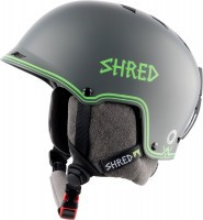 Шлем Shred Half Brain D de Lux Casque Bigshow grey-green (2018)