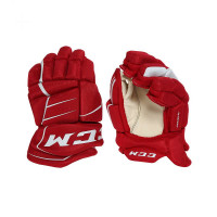 Перчатки детские CCM JetSpeed HG350 JR Gloves red/white (2021)