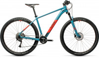 "Велосипед CUBE Aim EX 27.5"" blue´n´red (2021)"
