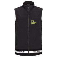 Жилет мужской Head Race Vest Softshell black (2021)